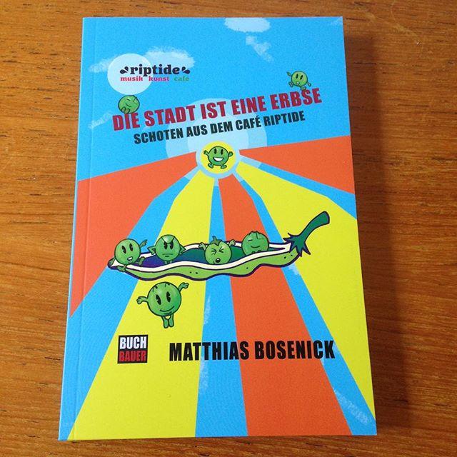 Ein neuer Titel aus dem Buchbauer Verlag: die Stadt ist eine Erbse von Matthias Bosenick #buchbauer #matze #riptide #jetztneubeiuns