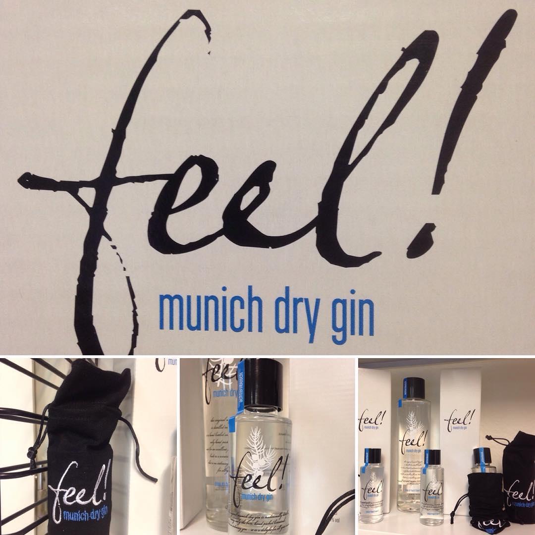 Neu im Shop! feel - Gin aus München 0,1l oder 0,7l. Mit Karton, mit Beutel oder ohne