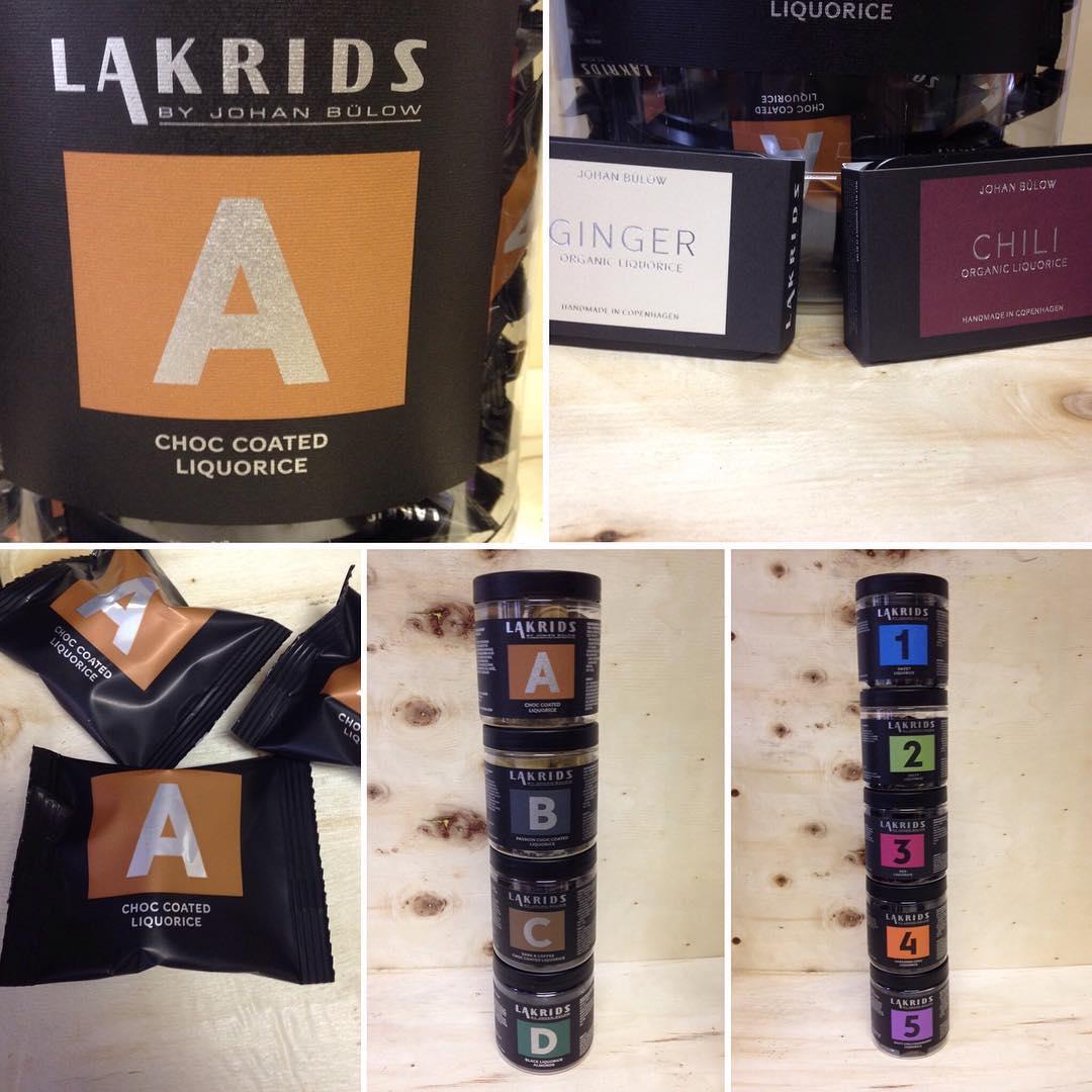Neu im Shop - LAKRIDS aus Dänemark. Viele verschiedene Sorten mit oder ohne Schokolade, scharf oder mild, süß oder salzig #12345
