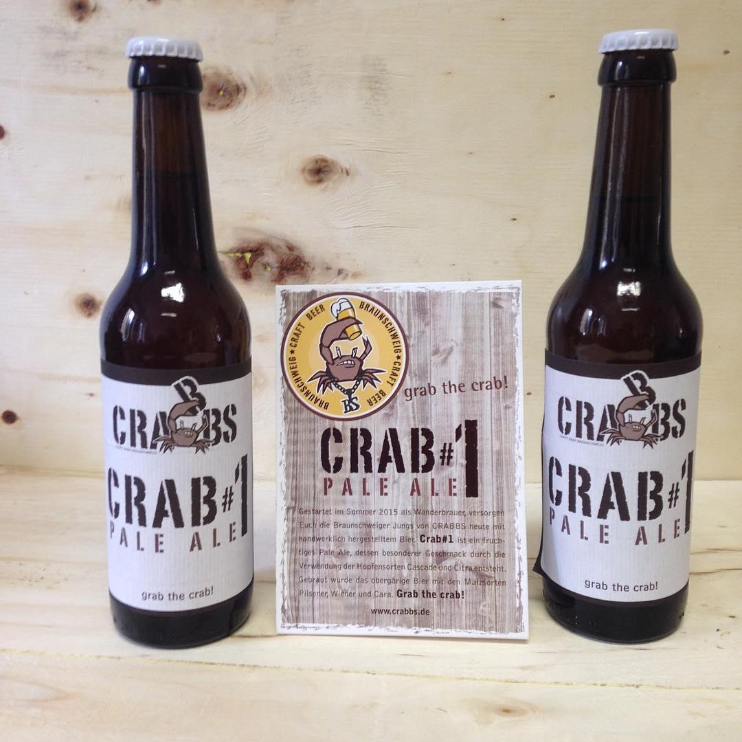 Neu im Shop - CRAB#1 Pale Ale