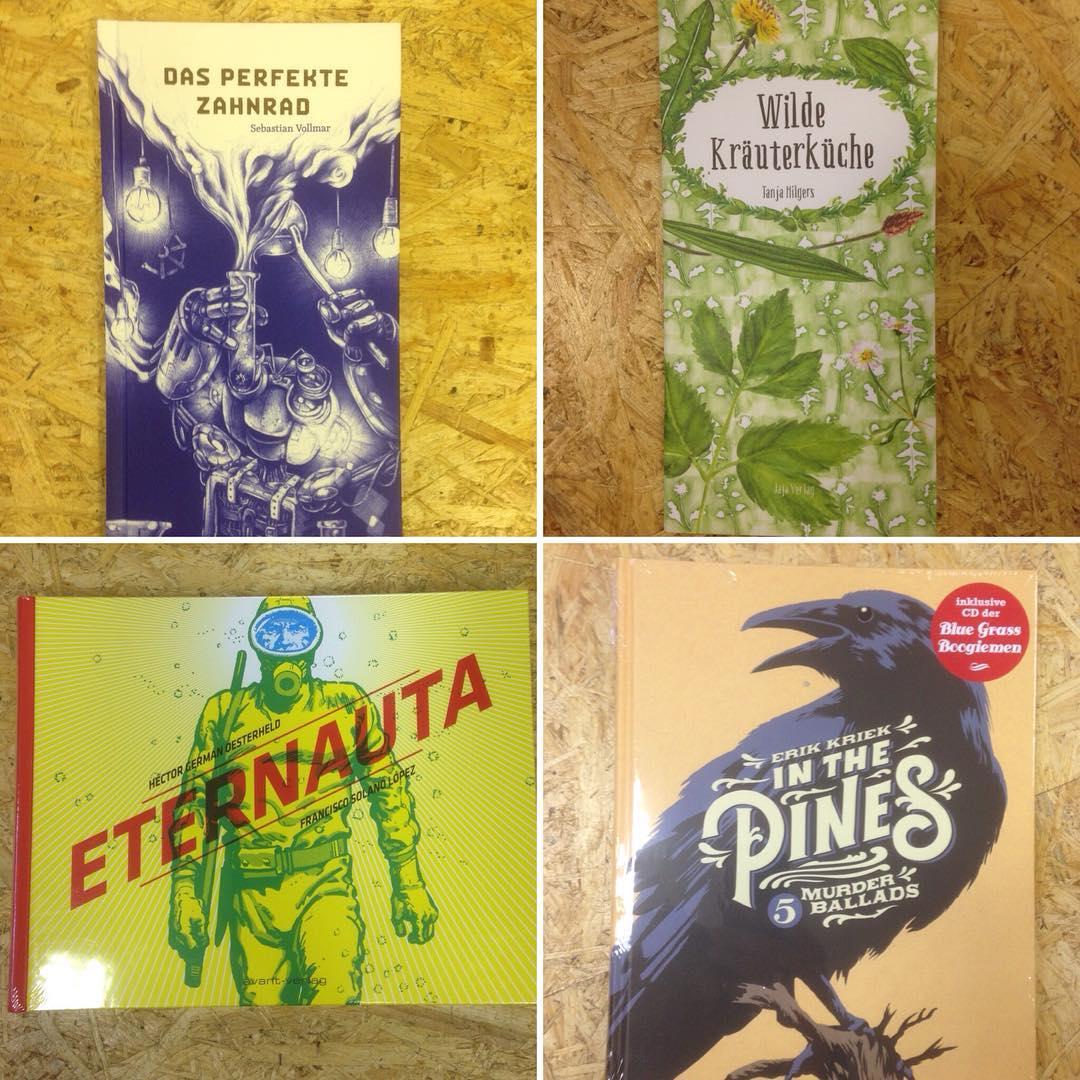 Neuer Lesestoff - zum Träumen, zum Kochen, zum Staunen