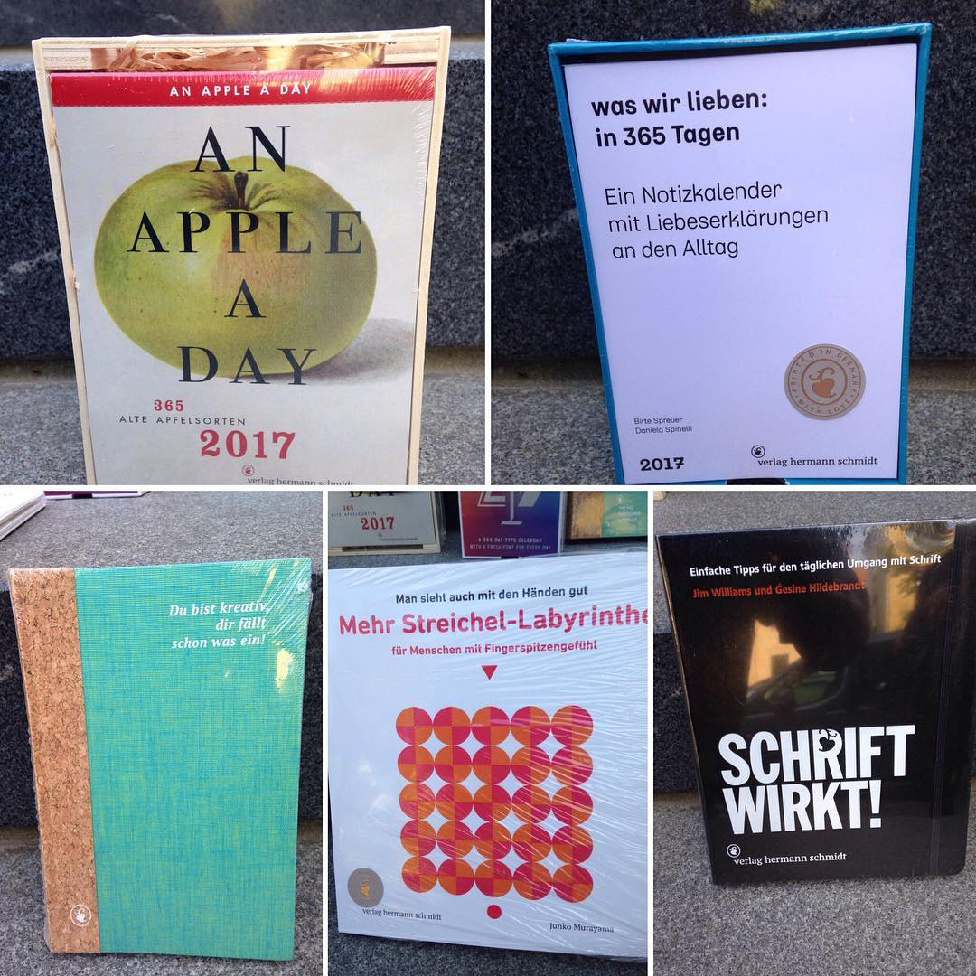 Neu neu neu im Shop: großartige Bücher aus dem Verlag Hermann Schmidt