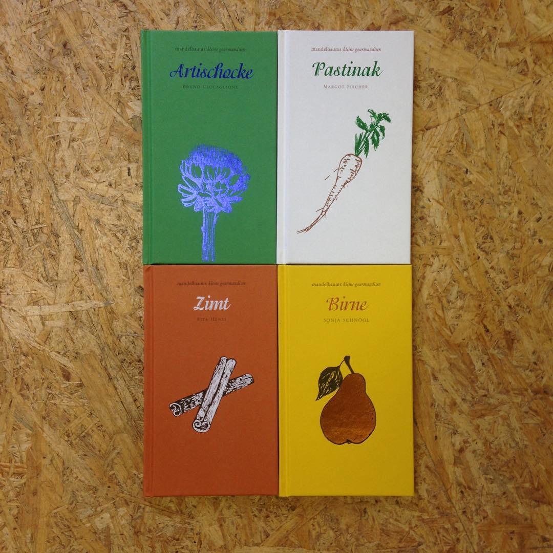 Neu Neu Neu im Shop! Tolle Gourmet-Bände aus dem Hause Mandelbaum