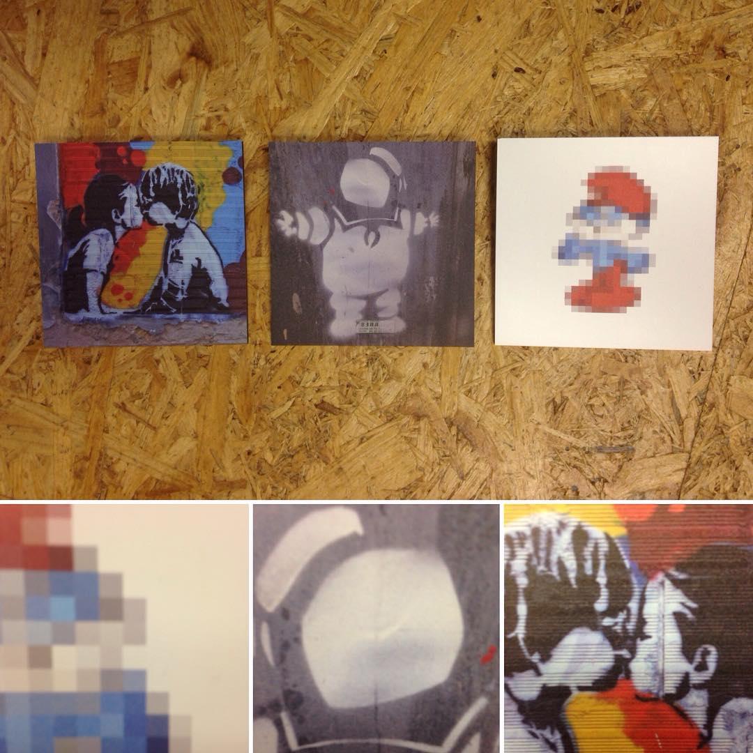 Geschenkideen ohne Zahl - Bilder auf AluDibond von pixelbub